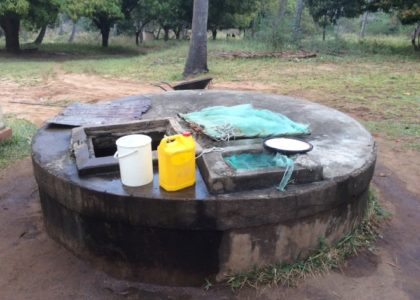 CHLORINE FOR AN ENTIRE VILLAGE FOR ONE MONTH IN MOZAMBIQUE